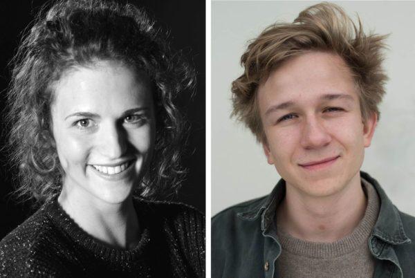 dpa news talent 2016: Laurentia Genske und Emile Ducke sind die diesjährigen Gewinner des Nachwuchswettbewerbs der Nachrichtenagentur dpa