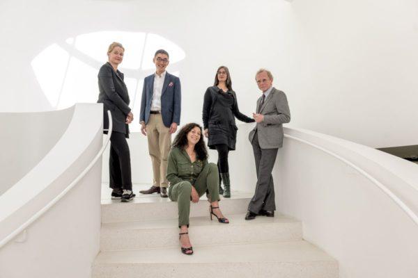 LOBA Jury 2017: v.l. Karin Rehn-Kaufmann, Douglas So, Scarlett Coten, Michelle Dunn Marsh und Christian Pohlert