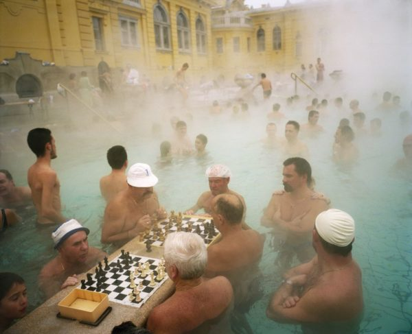 Martin Parr: Szechenyi thermal baths, Budapest, Hungary, 1997 © Martin Parr / Magnum Photos / Rocket Gallery