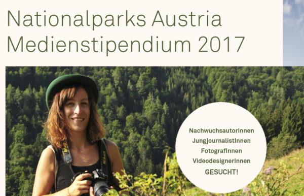 bis 31.03.2017 Nationalparks Austria Medienstipendium