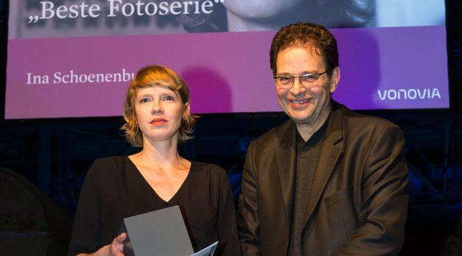 Ina Schoenenburg erhält Vovonia-Award 2017