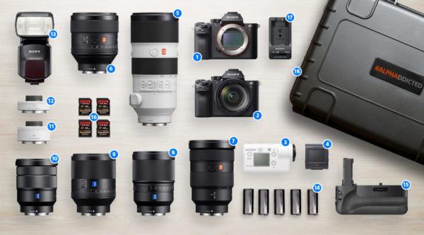 sony alphaddicted Koffer: Equipment im Wert von über 20.000 Euro